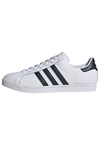 adidas Coast Star Shoes Men's, White, Size 7