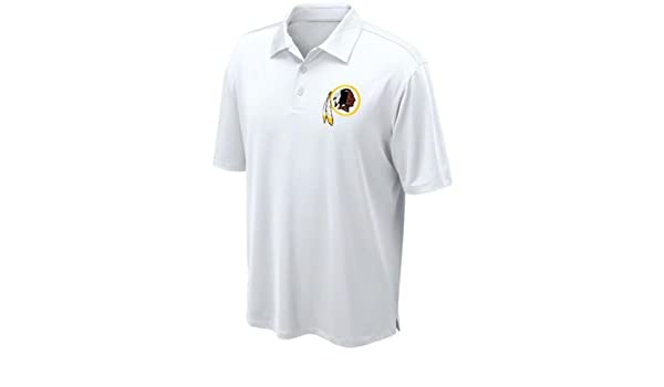 Amazon Com Washington Redskins Nfl Team Apparel White Dri Fit Polo