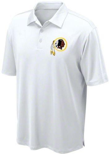 2c5f648d Amazon.com : Washington Redskins NFL Team Apparel White Dri Fit Polo ...