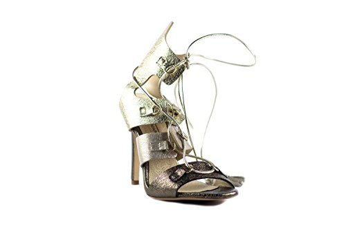 LORENZO MARI Women's Fashion Sandals Platino ooRYx