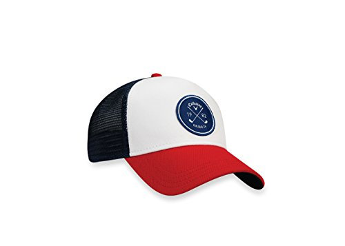 Callaway 2017 Trucker Hat, Red, One Size