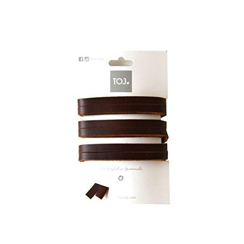 We Love TOJ TOJ Laces (Brown Leather)