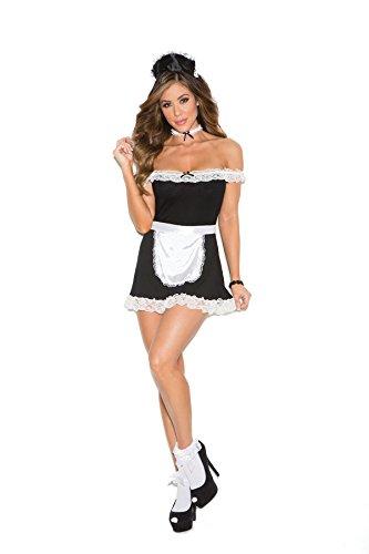 [Women's Sexy Maid Uniform Cosplay Costume Set] (Hot Butler Costume)