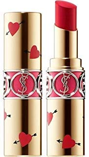 Yves Saint Laurent ROUGE VOLUPTÉ SHINE OIL-IN-STICK LIMITED EDITION COLLECTORS 45 Rouge Tuxedo