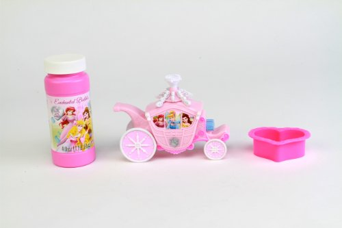 Disney Princess Enchanted Carriage Dip and Blow - Bubble Wand Princess