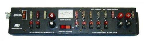 MFJ-1129 Power strip, 40A, 10 pole, w/meter