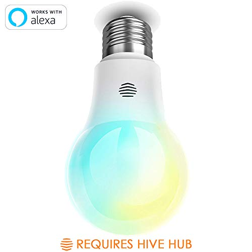 Hive LED Light Bulb for Smart Home, Cool to Warm White, Works with Alexa & Google Home, Requires Hive Hub