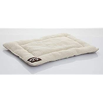 2PET Crate Pad Comfy Cushion Ultra Soft Breathable Puppy Bed Crate Mat - Safe Bed for Dogs, Cats - Lightweight Nap Pad for Dog Kennels and Pet Carriers - 20