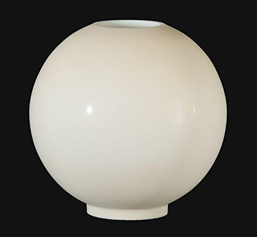 B&P Lamp 10'' Opal Glass Ball Shade, Cream Tint by B&P Lamp