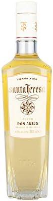 Premium Ron Blanco SANTA TERESA Claro, 40% vol, 700ml: Amazon ...