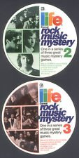 Price comparison product image Three Volume Set: Quaker Oats-Life Cereal Premium Rock Music Mystery Contest 3 Records