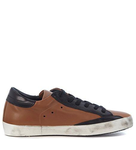 Philippe Model Sneaker Classic in Pelle Marrone Cammello Marrone Manchester Gran Venta Precio Barato IUDJZiI