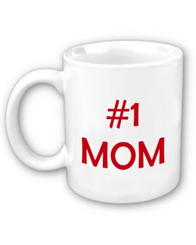 amazon com 1 mom coffee mug kitchen dining