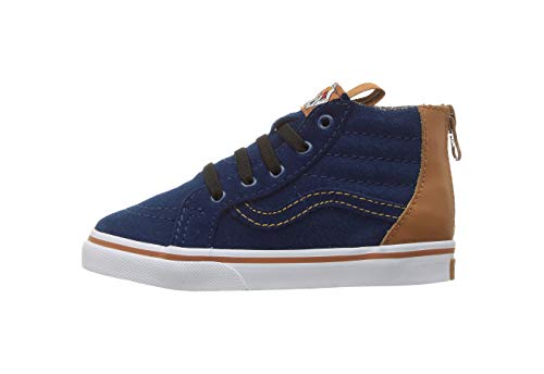 Vans Toddler Sk8-Hi Zip (MTE) Blue Depths VN0A32R3OPU for sale  Delivered anywhere in USA