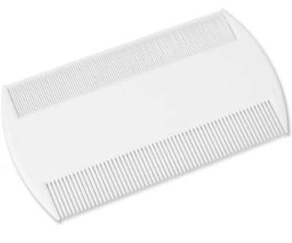 ultimatesalestore Practical & Efficent Head Lice & Pet Flea Plastic Nit Comb With Fine Tooth