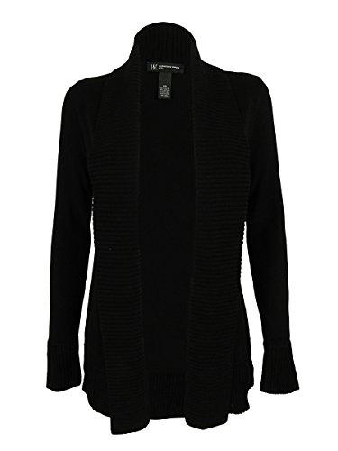 INC International Concepts Women's Shawl Collar Cardigan (PP, Deep Black) (Inc Black Cardigan compare prices)