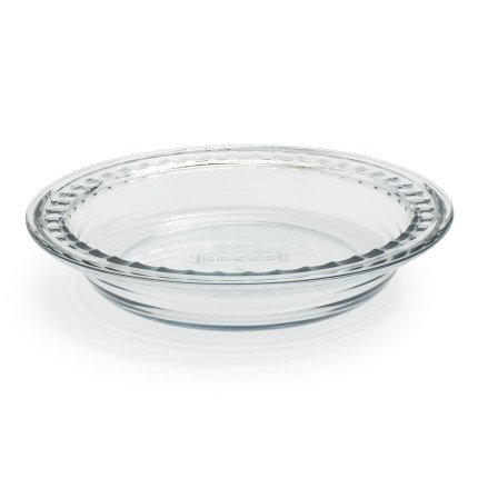 Anchor Hocking 79097 Baked by Fire-King Deep Pie Plate, 9.5