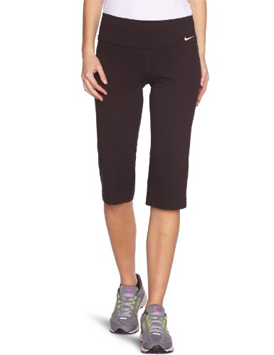 Nike Legend 2.0 Women's Regular Cotton Capri Workout Pants - X Small - Black