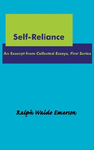 Emerson self reliance essay summary