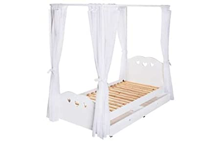 Ashley 4 Poster Single Bed Frame