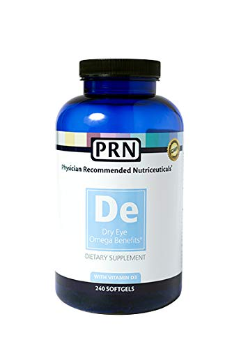 Physician Recommended Nutriceuticals PRN Omega Benefits Fish Oil 240 Softgels ()