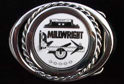 Millwright Powerhouse Belt Buckle