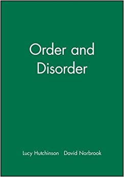 Order and Disorder by Hutchinson Hutchinson (2001-01-24)