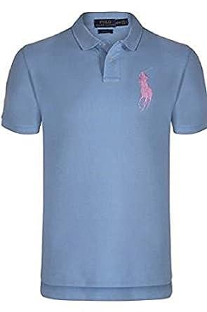2c593847d26e Ralph Lauren Men s Polo Shirt Casino Blau  Amazon.co.uk  Clothing