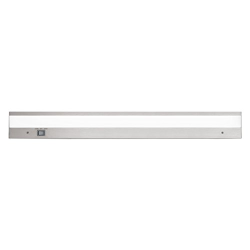 Duo Three Light - WAC Lighting BA-ACLED24-27/30AL Duo ACLED Dual Color Option Bar in Brushed Aluminum Finish; 2700K and 3000K, 24 Inches
