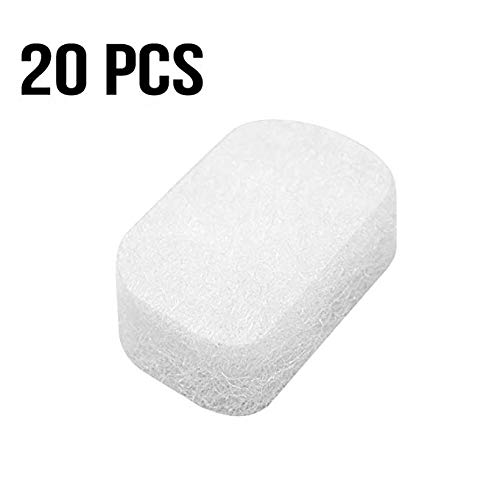Eson Diffusers Fit Fisher & Paykel 20 Pcs Count, Eson Diffuser Filters for Fp400Hc228 F & P Fisher Paykel Series CPAP Machines | Medihealer Replacement Filters Supplies ()