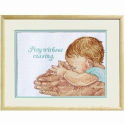Janlynn Pray Without Ceasing Cntd X-Stitch Kit (Cntd Stitch Kit Cross)