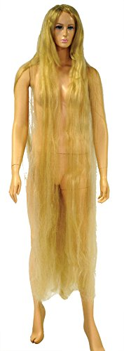 UHC Women's Godiva Discount Champagne Blonde Wig Halloween Costume Accessory