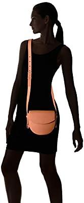 Skagen Lobelle Leather Saddle Bag-Black
