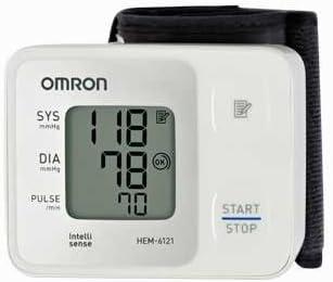 Omron Blood Pressure Monitor Wrist Type HEM-6121
