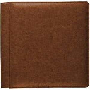 Vintage Cognac fine-Grain Leather #105 Album with 5-at-a-time Pages by Raika - 4x6
