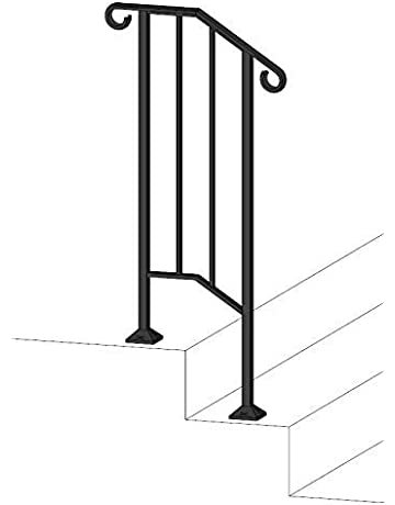 Staircase Handrails   Amazon com   Building Supplies - Stair