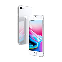 Simple Mobile Prepaid – Apple iPhone 8 (64GB) – Silver [Locked to Carrier – Simple Mobile]