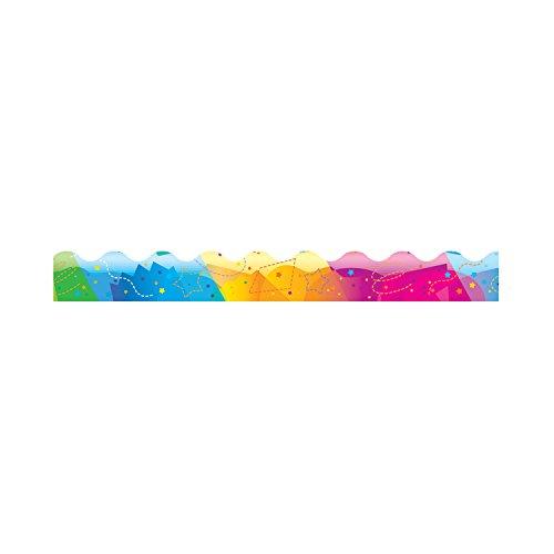 Trend Enterprises Color Splash Terrific Trimmers (12 Piece), 2-1/4