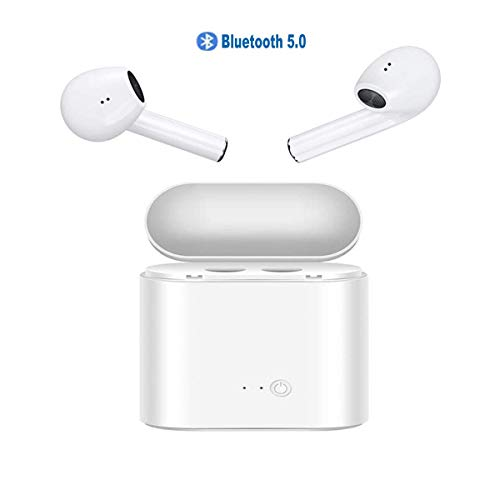 Bluetooth Earbuds 5.0 Bluetooth Headphones Wireless Headset with Charging case