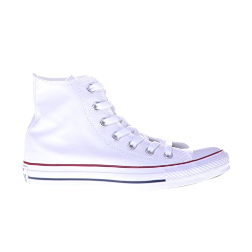 Converse Unisex Chuck Taylor All Star Hi Top Sneaker Optical White 8.5 B(M) US Women / 6.5 D(M) US Men Converse Chucks Hi