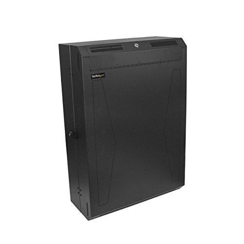 StarTech.com Server Cabinet - 6U - 30in Depth - Vertical - Wall Mount Network Rack - Network Enclosure - Wall Mount Server Rack