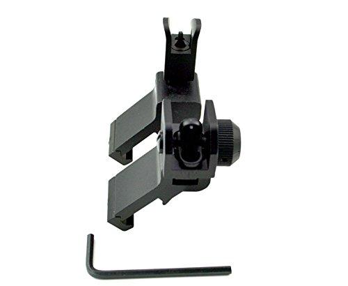 Sniper MAFRS 45 Degree offset Front & Rear Sight; Rapid Transition; Combo Set; Flip Up Sight