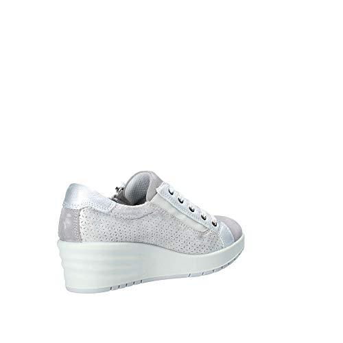 Pelle Donna Sneakers Enval Soft Accia 8P1xTtq