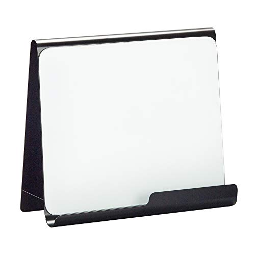 Safco Products 3220BL Wave Magnetic Dry Erase Easel, Black