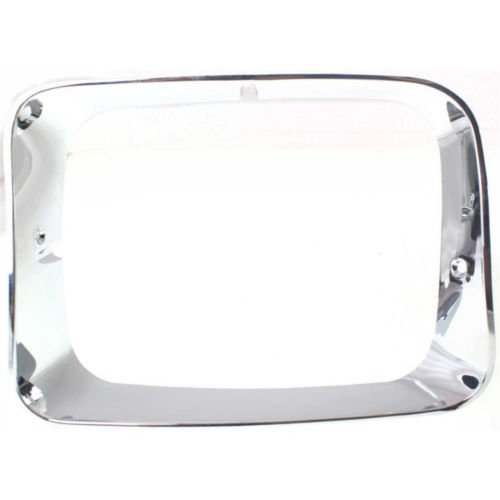DAT AUTO PARTS Left Driver Side Headlamp Door Cover Replacement for 92-93 Dodge D350 Pickup Ramcharger CH2512118 -