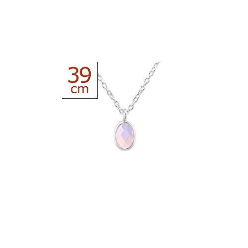 Price comparison product image 925 Sterling Silver Oval Necklaces