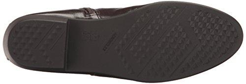 Step It Boot Dark Aerosoles Up Leather Brown Women's OSq5wz