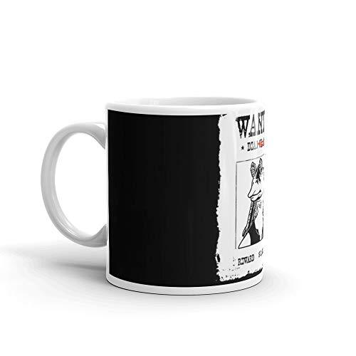 Jar Jar Binks Wanted Dead or. Dead. 11 Oz Ceramic Glossy Mugs Gift For Coffee Lover Unique Coffee Mug, Coffee Cup