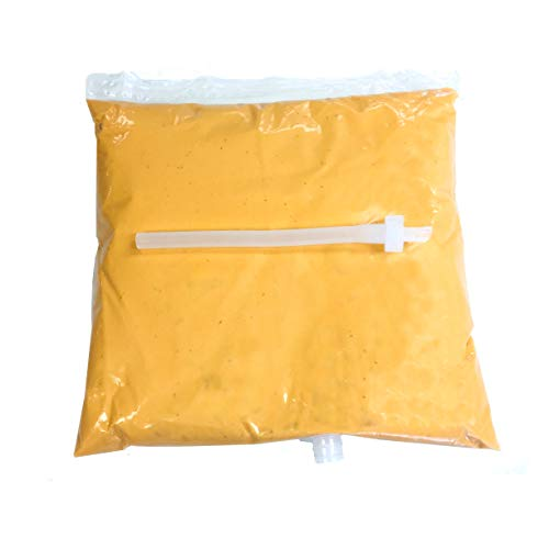 (Muy Fresco Package of one (1) Cheddar Cheese Sauce Bags, Disposable Pouch)