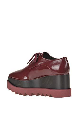Burdeos Stella Mujer De Zapatos Mcglcat000005018e Mccartney Cordones Bztqwz60